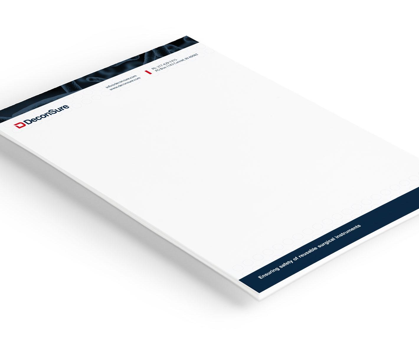 Deconsure-letterhead-design