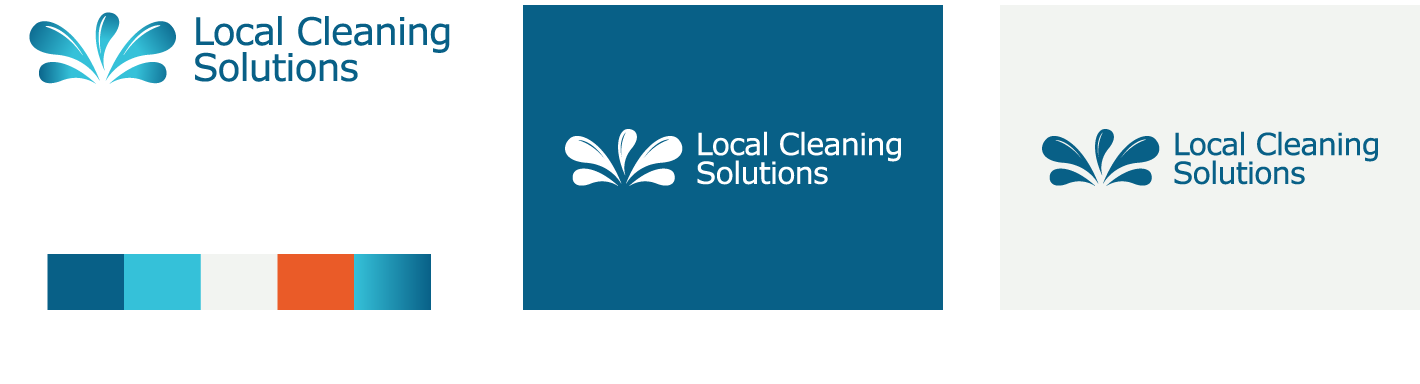 LocalCleaning-logo-design