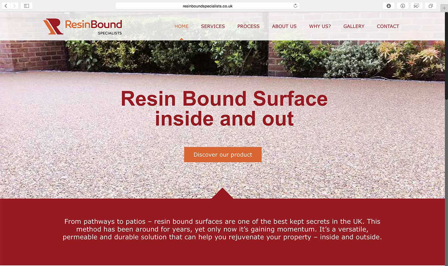 Resin-web-design