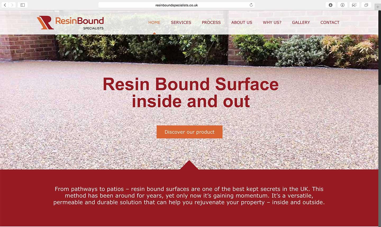 Resin-web-design
