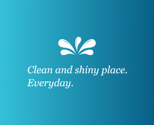 local-cleaning-logo-design